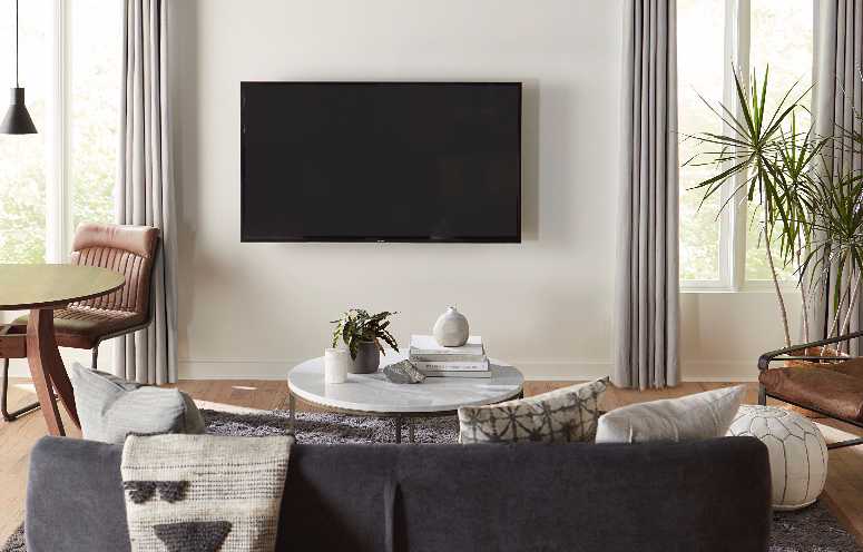 What To Put Under A Mounted Tv Photos