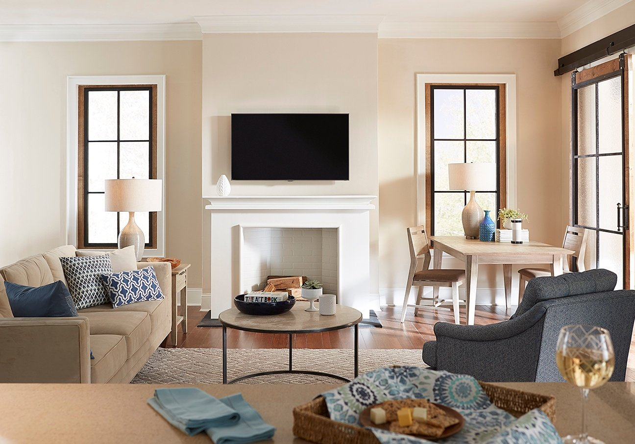 everything you need to know about mounting a tv over a fireplace rh blog sanus com tv mounted above fireplace tv mounted above fireplace cords in wall