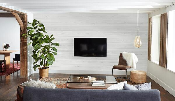 What Would Joanna Do How To Mount Your Tv On Shiplap