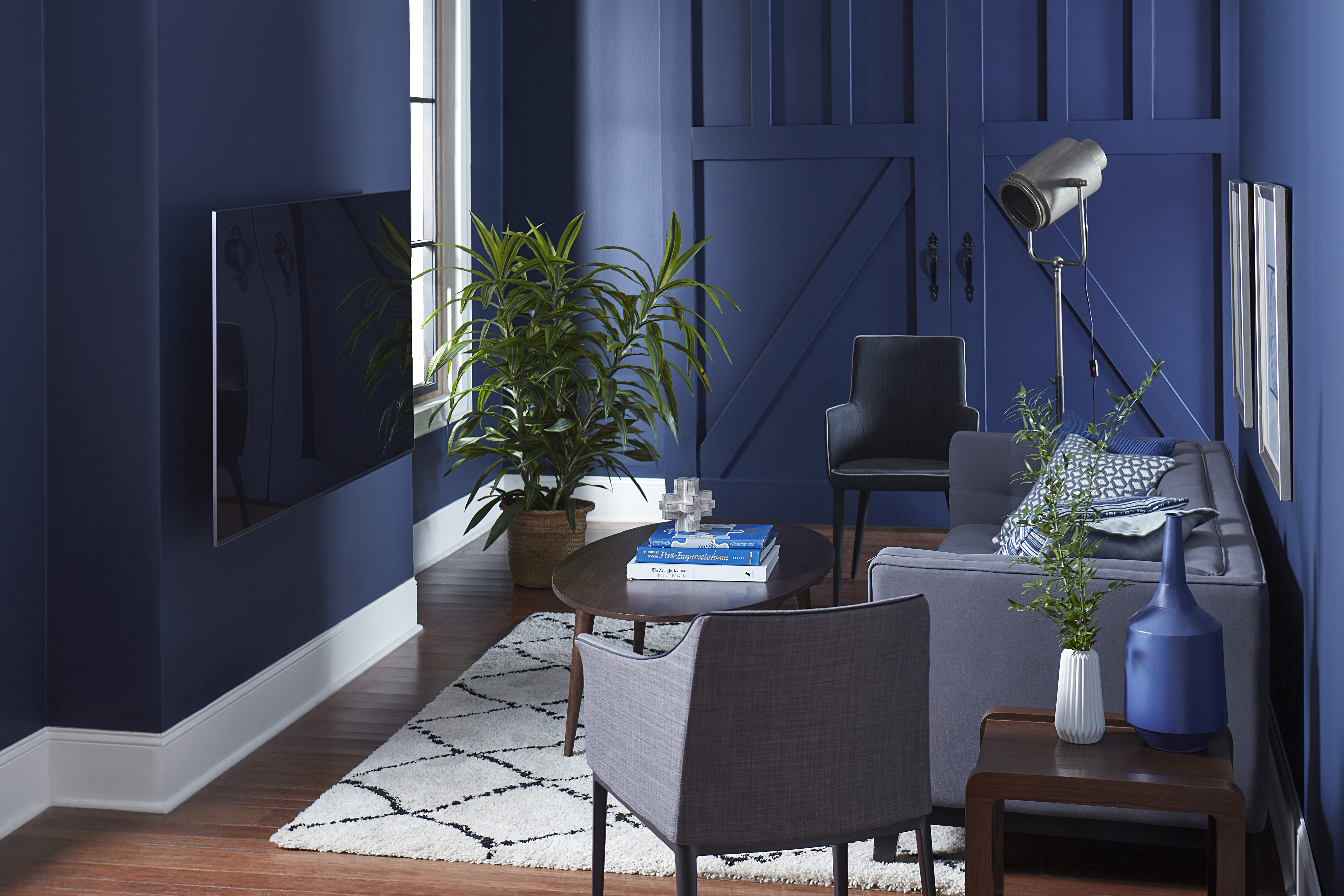 Proof That Dark Wall Colors Can Work in Small Spaces