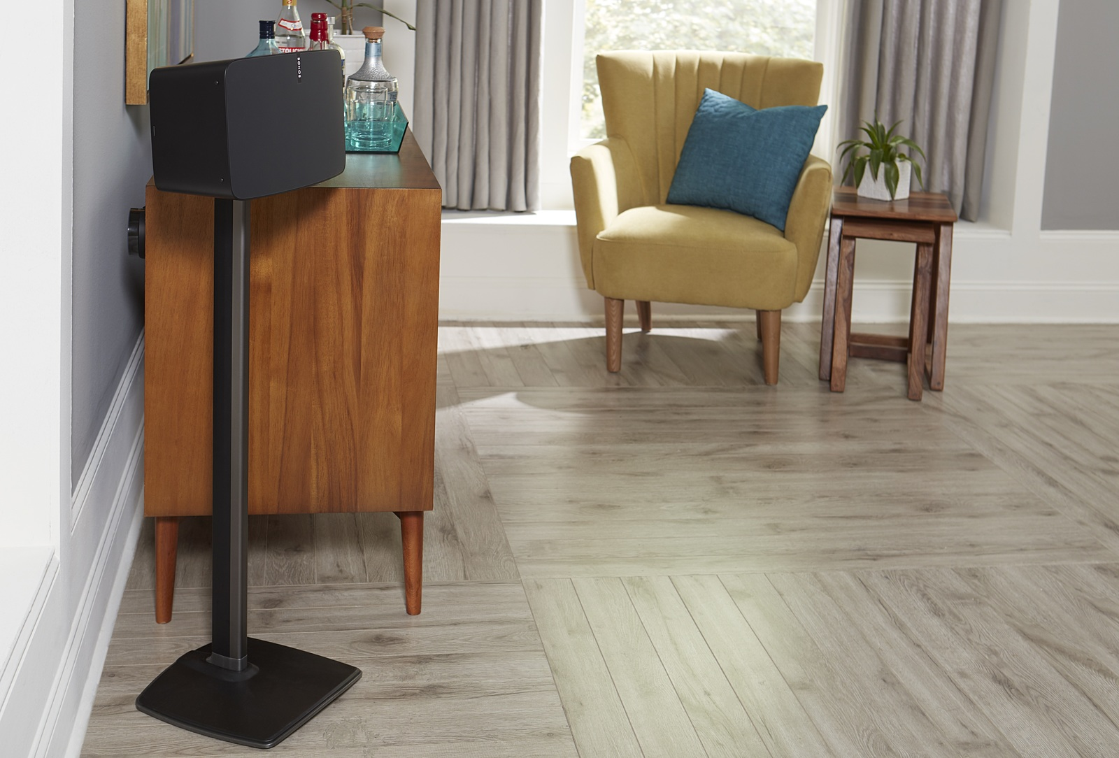 SANUS WSS51 Speaker Stand Designed to Hold Sonos Play:5 Speakers