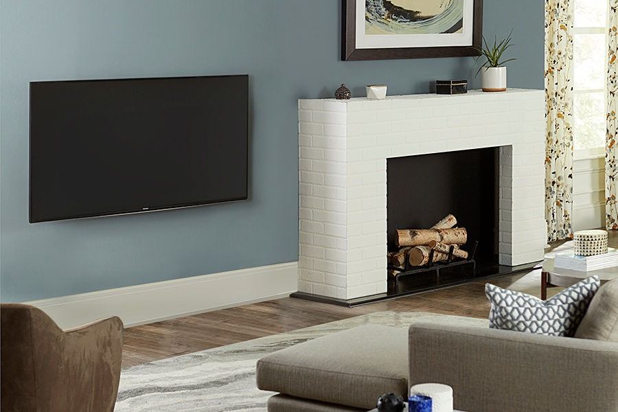 Where to Put the TV When You Have a Fireplace