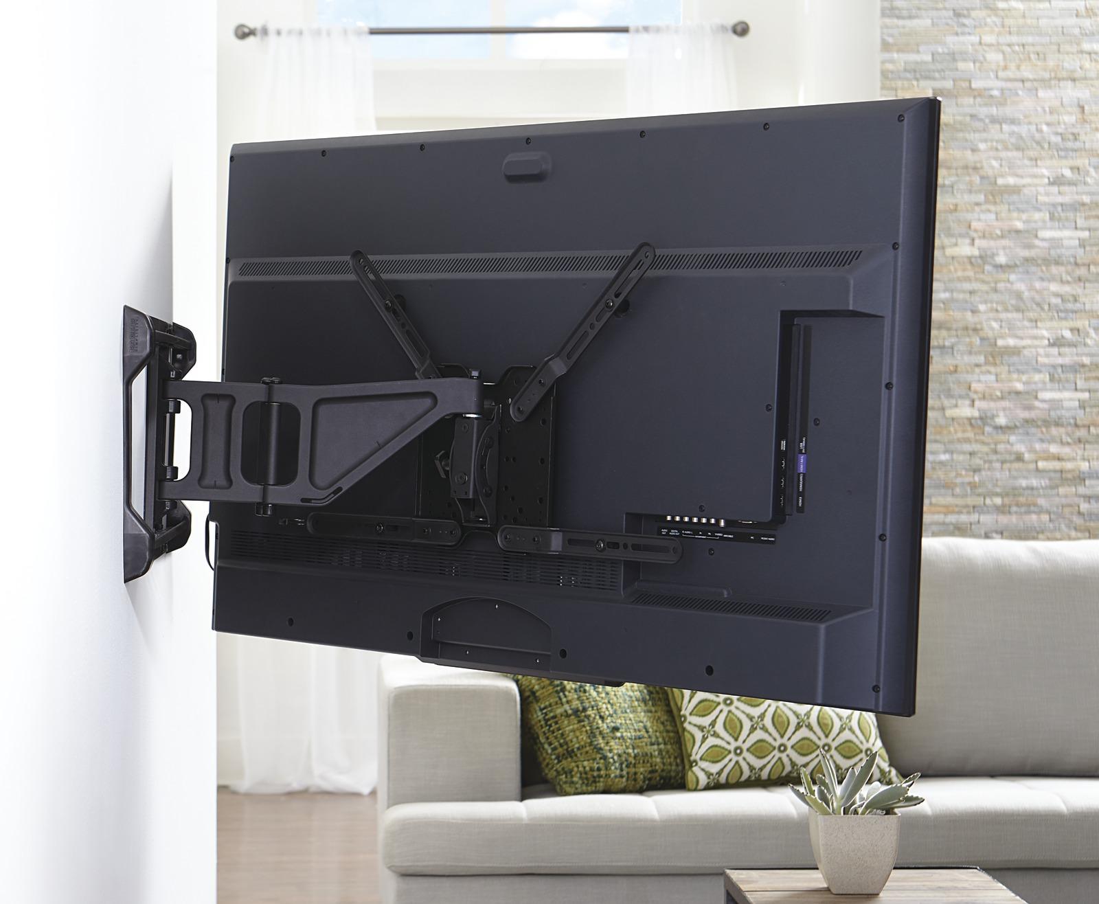 full motion tv mount extended