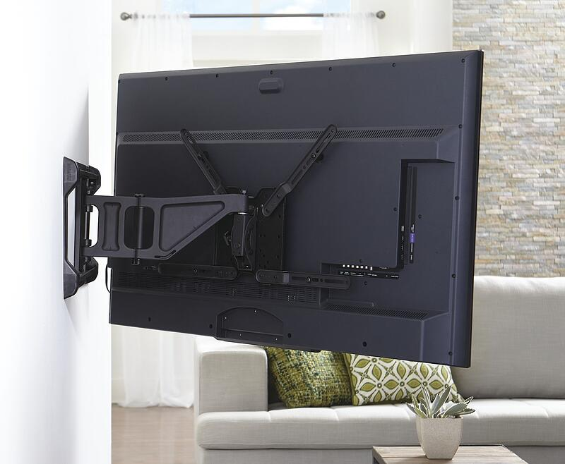 full motion tv mount extended