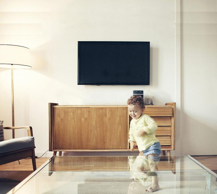 Baby proofing your TV