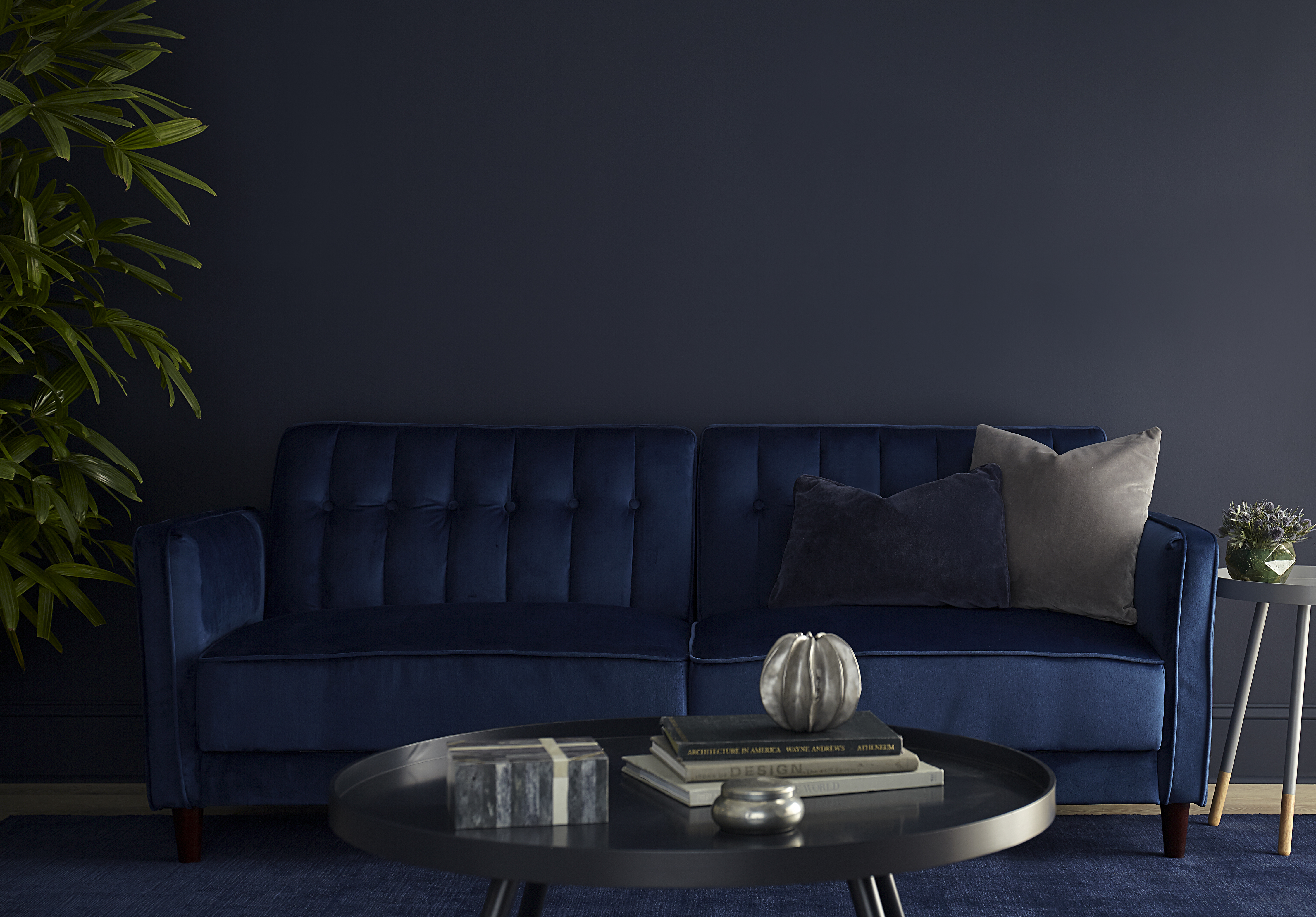 Dark Paint Inspiration for Your Living Room