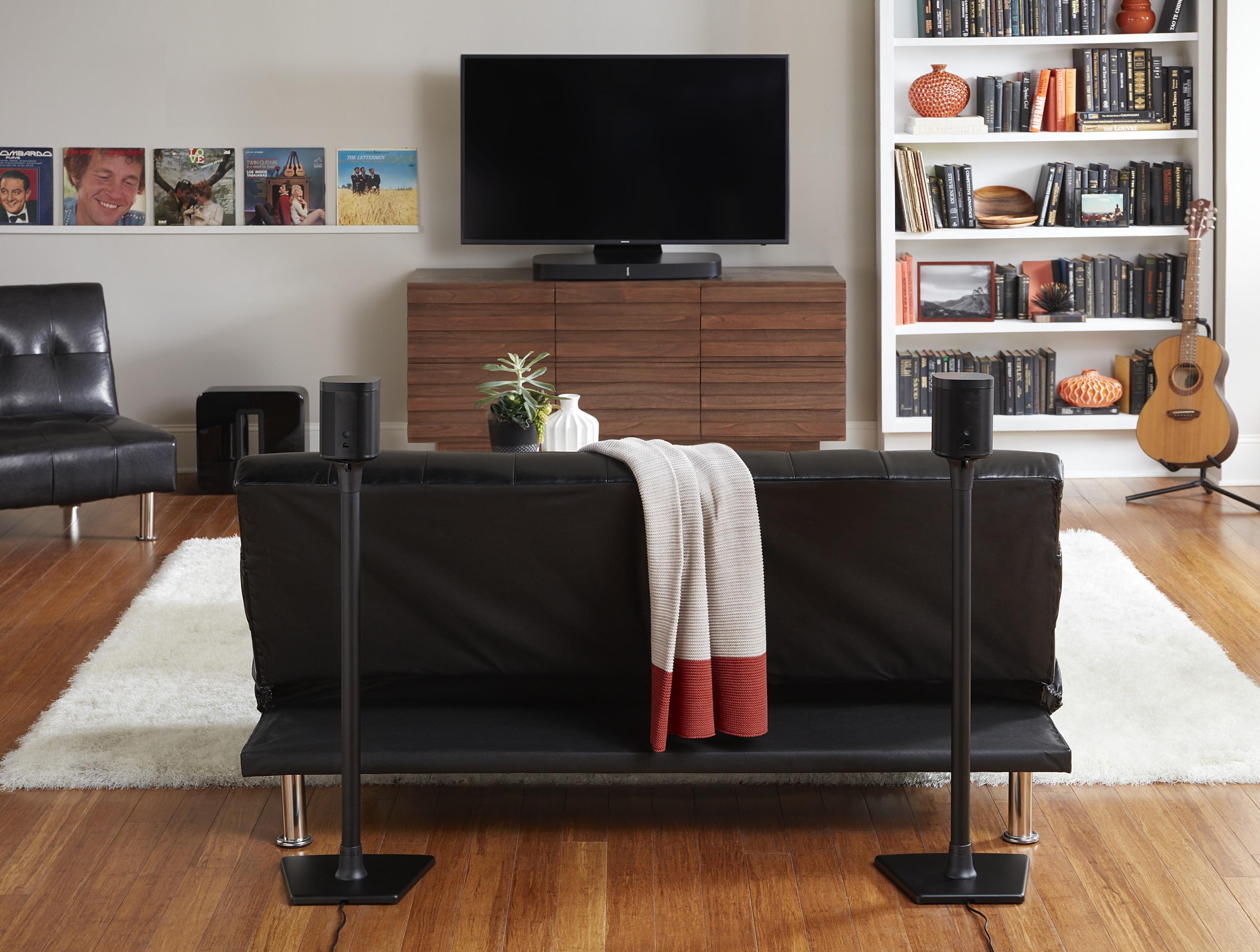Sonos 5.1 Surround Sound with SANUS Speaker Stands