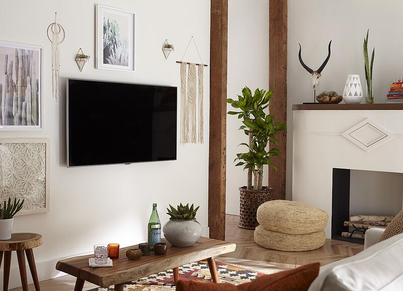 southwest style TV wall