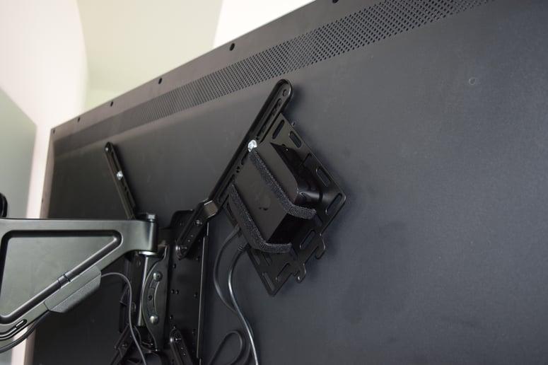 hide Apple TV behind tv