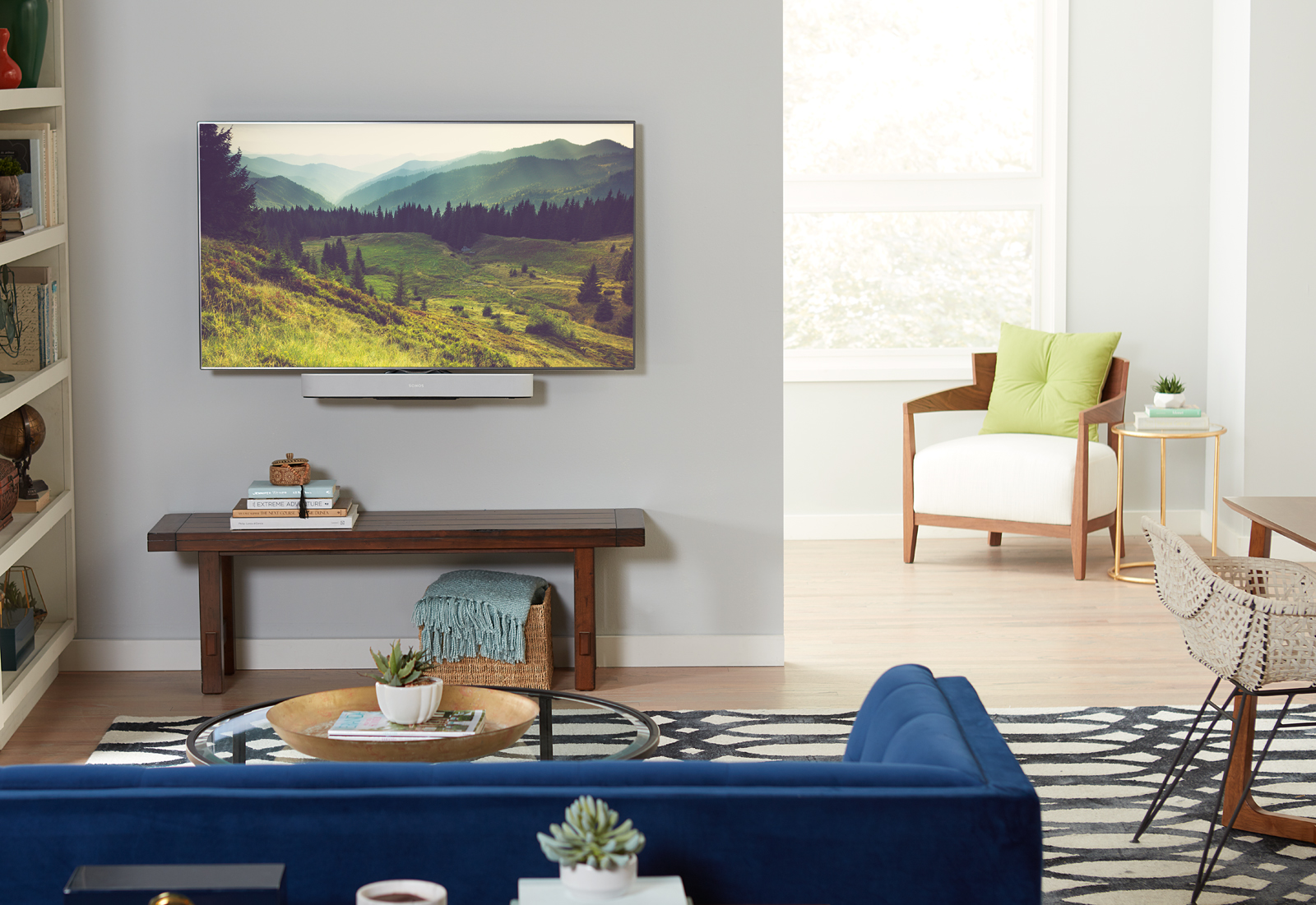 What to Put Under Mounted TV